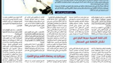 """Photo of جريدة """"الشعب"""" الموريتانية تحاور """"أ.فاضل غي"""" رئيس النادي الأدبي السنغالي"""