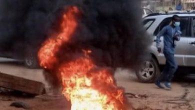 "Photo of مظاهرات لأنصار ""سونكو"" في أحياء من العاصمة دكار"